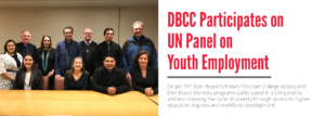 Don Bosco Community Center Participates on UN Panel on Youth Employment