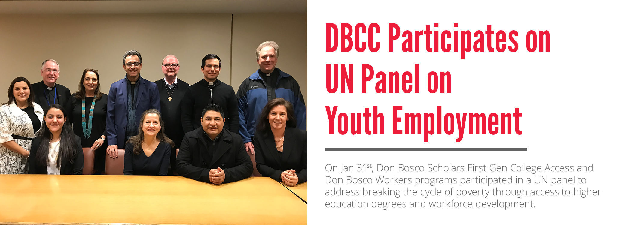 DBCC at the UN