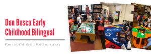 Don Bosco Early Childhood Bilingual - Parent and Child Visits to Port Chester Library